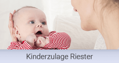 Kinderzulage Riester